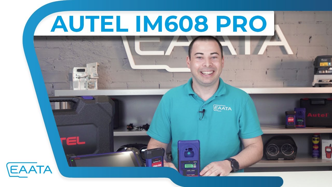 AUTEL IM608 PRO | Todo sobre la Herramienta de programación de llaves profesional course image