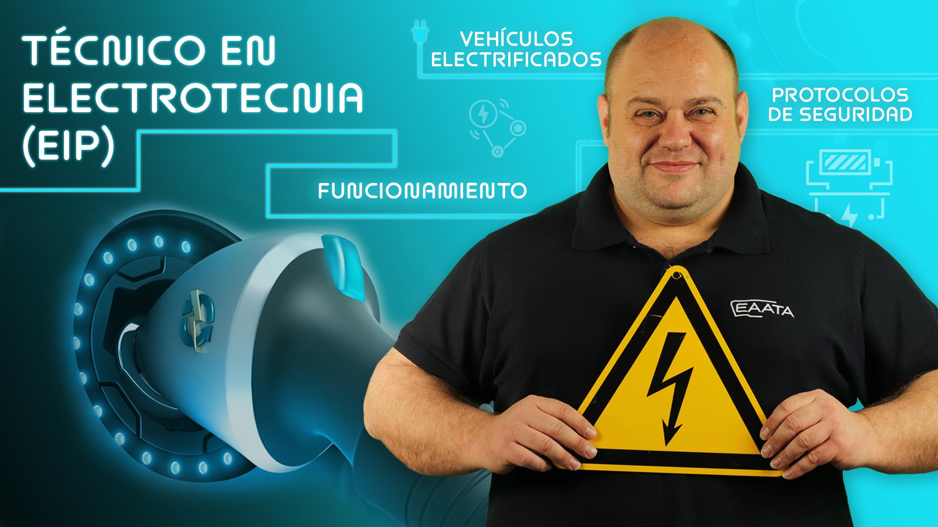 Persona instruida en electrotecnia y vehículos eléctricos (EIP) course image