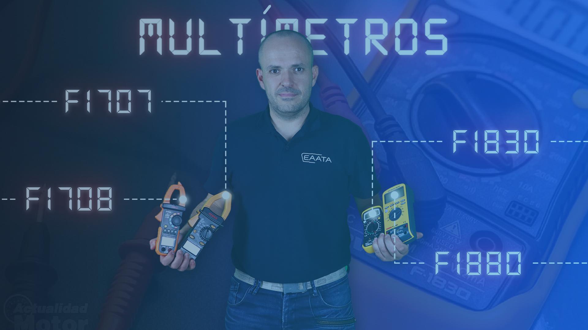 Multímetros course image